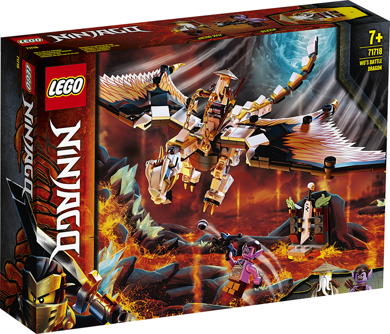 LEGO® 71718 NINJAGO® Wu's Battle Dragon - My Hobbies