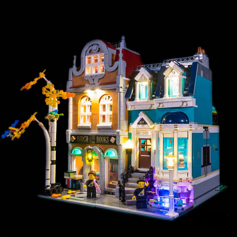 LEGO BOOKSHOP 10270 LIGHT KIT (LEGO Set Are Not Included ) - My Hobbies
