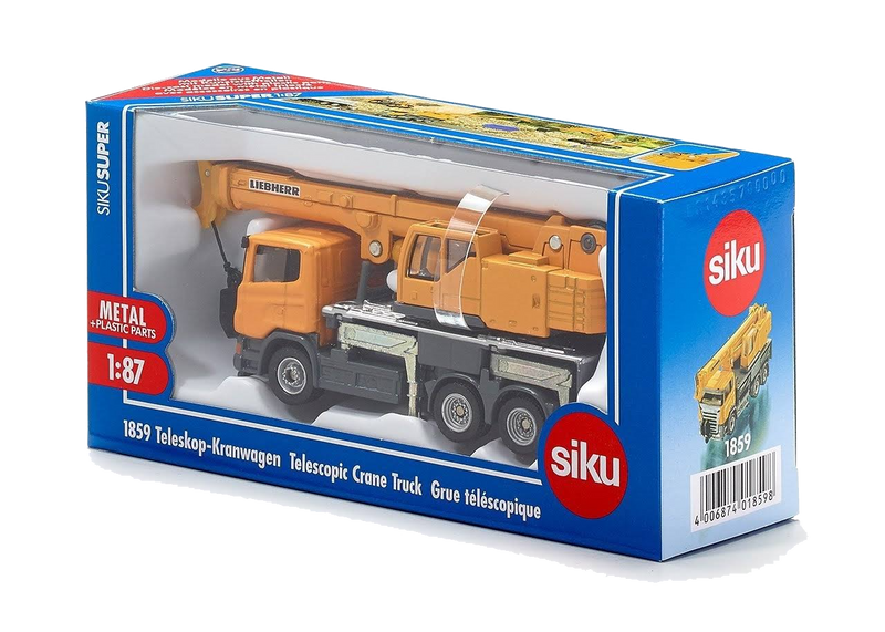 Siku - Scania & Liebherr Telescopic Crane Truck - 1:87 Scale - My Hobbies
