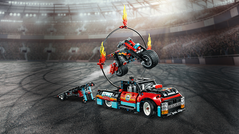 LEGO® 42106 Technic™ Stunt Show Truck & Bike - My Hobbies