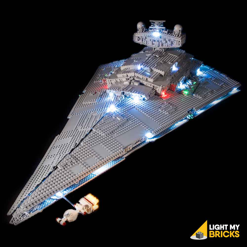LEGO Star Wars UCS Imperial Star Destroyer™ 75252 Light Kit (LEGO Set Are Not Included ) - My Hobbies