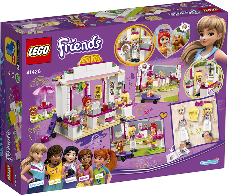 LEGO® 41426 Friends Heartlake City Park Café - My Hobbies
