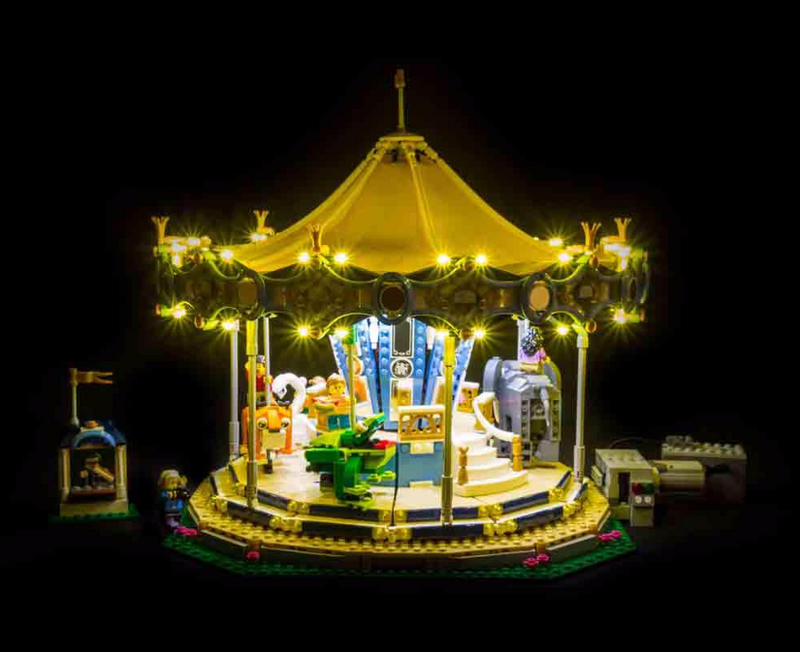 LEGO Carousel 10257 Light Kit (LEGO Set Are Not Included ) - My Hobbies