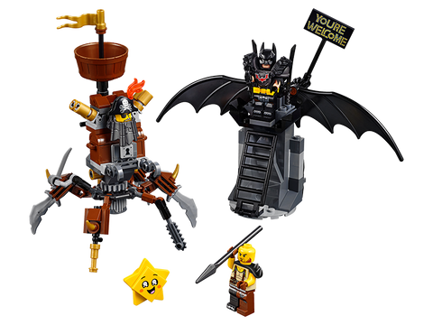 LEGO 70836 The Lego Movie 2 Battle-Ready Batman and MetalBeard