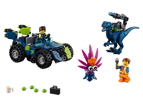 LEGO 70826 The Lego Movie 2 Rex's rex-treme Offroader
