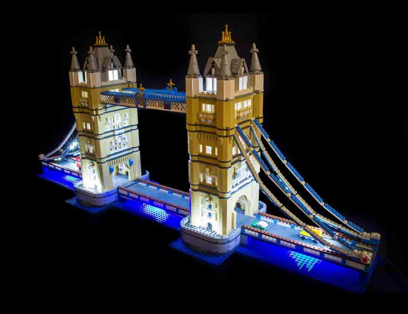 LEGO Tower Bridge 10214 Light Kit (LEGO Set Are Not Included ) - My Hobbies