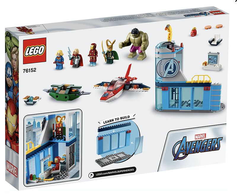LEGO® 76152 Marvel Avengers Wrath of Loki - My Hobbies