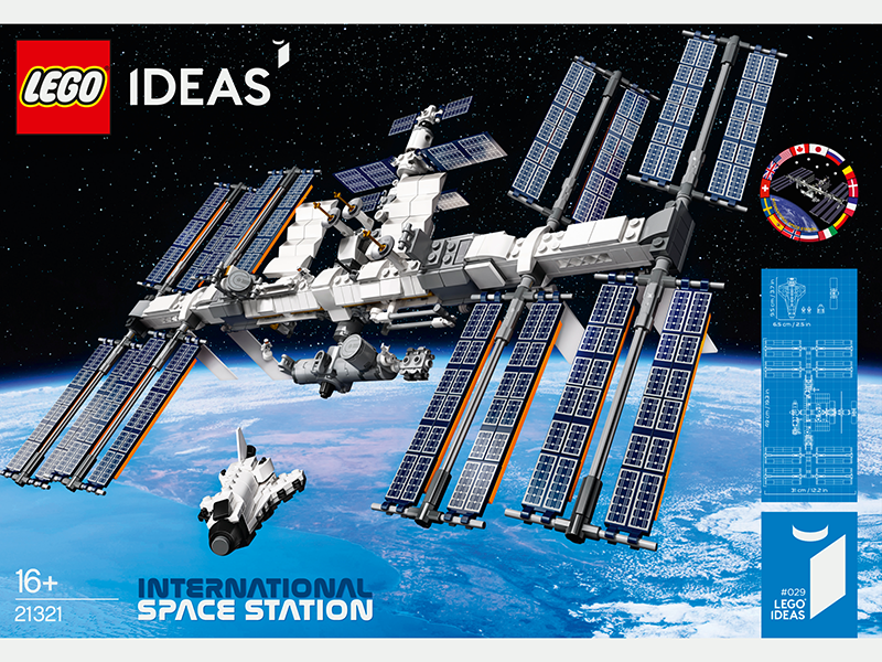 LEGO® 21321 Ideas International Space Station - My Hobbies