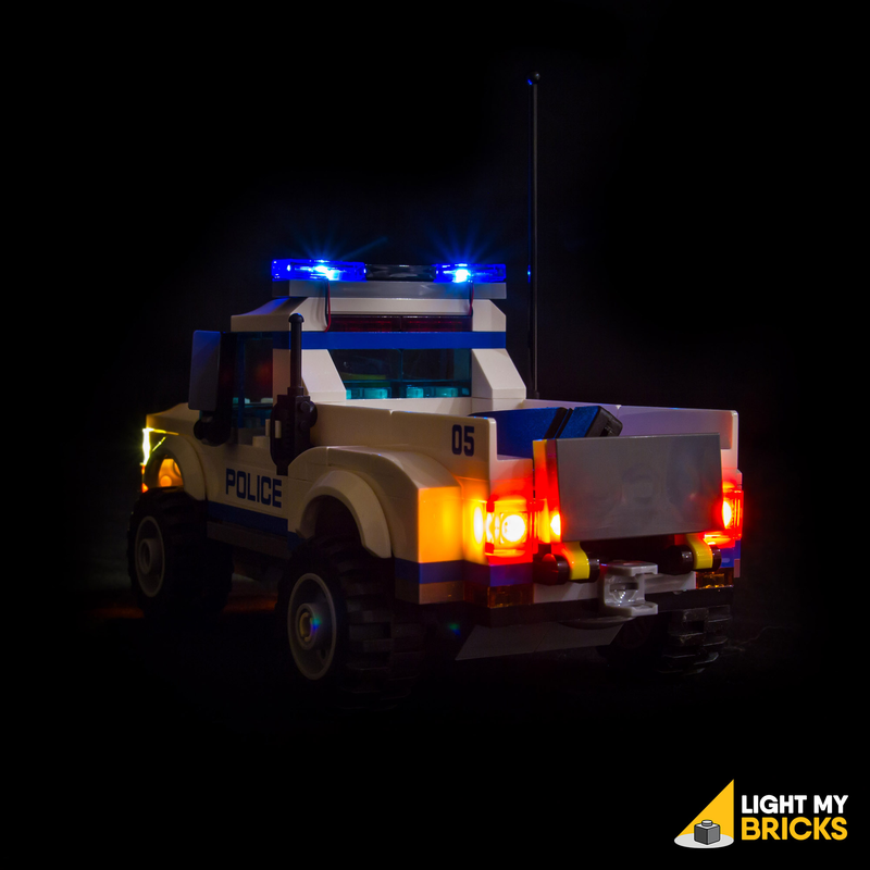 Starter Kit - Police Car (6 Lights) (LEGO Set Are Not Included ) - My Hobbies