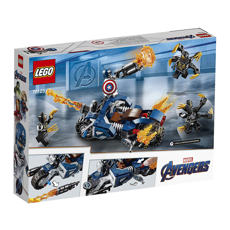 LEGO® 76123 Marvel Super heroes Captain America: Outriders Attack - My Hobbies