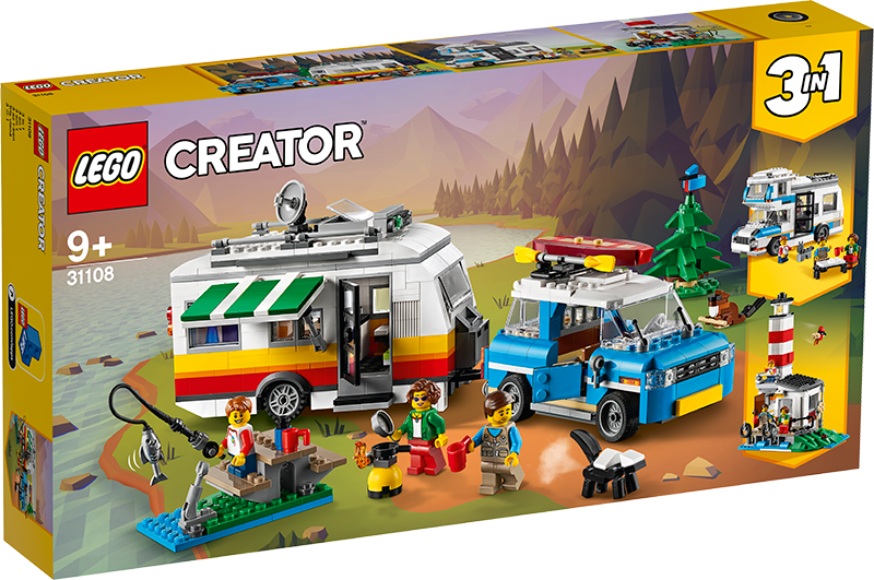 LEGO® 31108 Creator 3-in-1 Caravan Family Holiday - My Hobbies