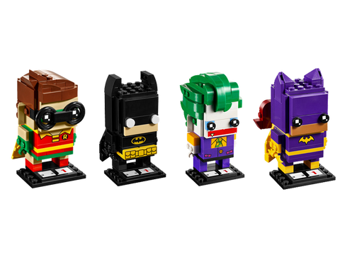 LEGO BrickHeadz Series 1 Full Batman Collections (41585, 41586, 41587, 41588)