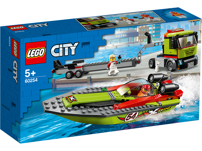 LEGO® 60254 City Race Boat Transporter - My Hobbies