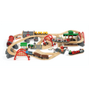 BRIO Set - Deluxe Railway Set, 87 pieces - My Hobbies