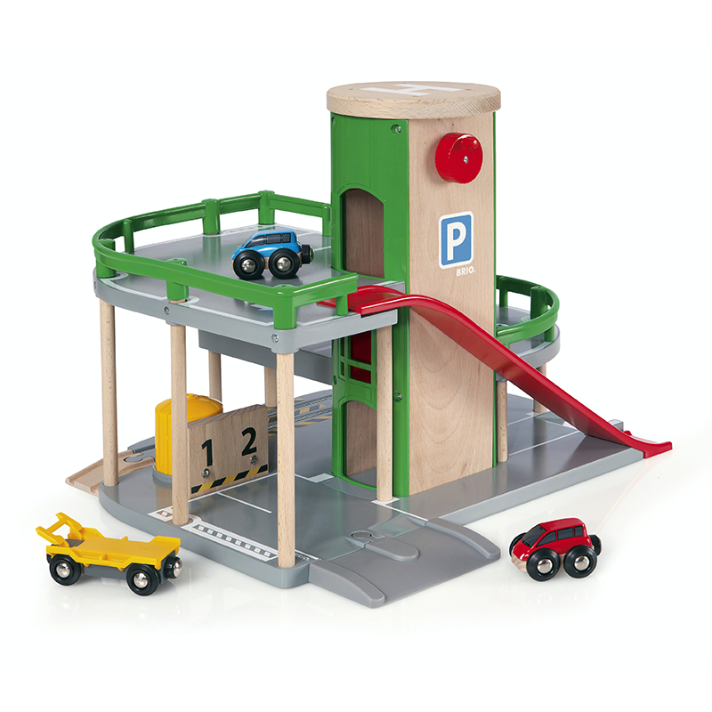 BRIO Destination - Parking Garage, 7 pieces - My Hobbies