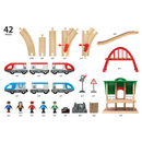 BRIO Set - Travel Switching Set, 42 pieces - My Hobbies