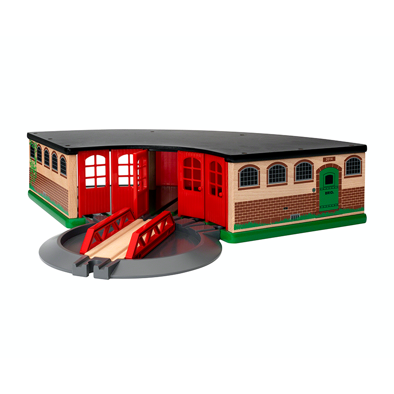BRIO Destination - Grand Roundhouse, 3 pieces - My Hobbies