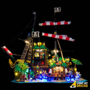 LEGO  Pirates of Barracuda Bay 21322 Light Kit (LEGO Set Are Not Included ) - My Hobbies