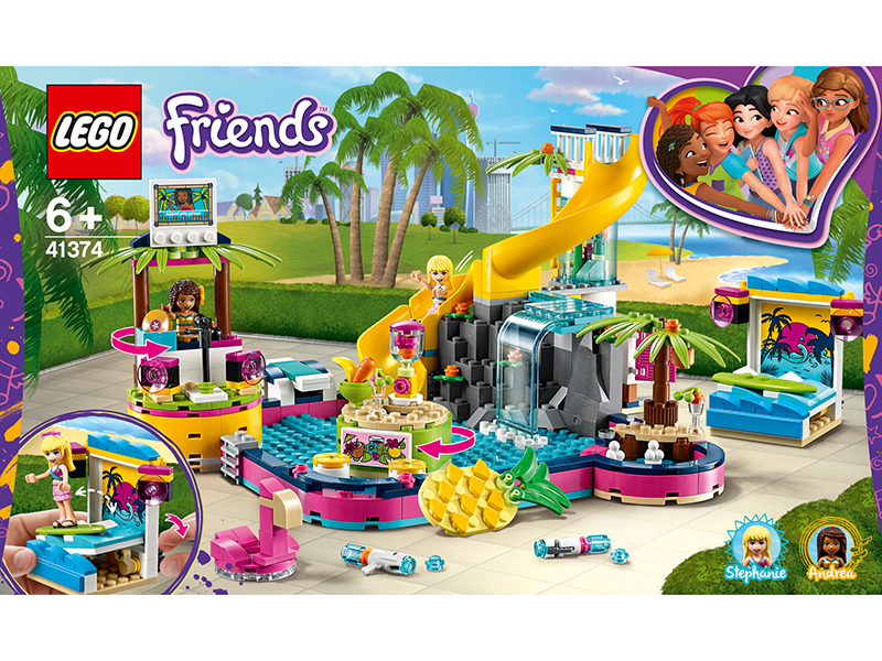 LEGO® 41374 Friends Andrea's Pool Party - My Hobbies