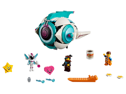 LEGO 70830 The Lego Movie 2 Sweet Mayhen's Systar Starship