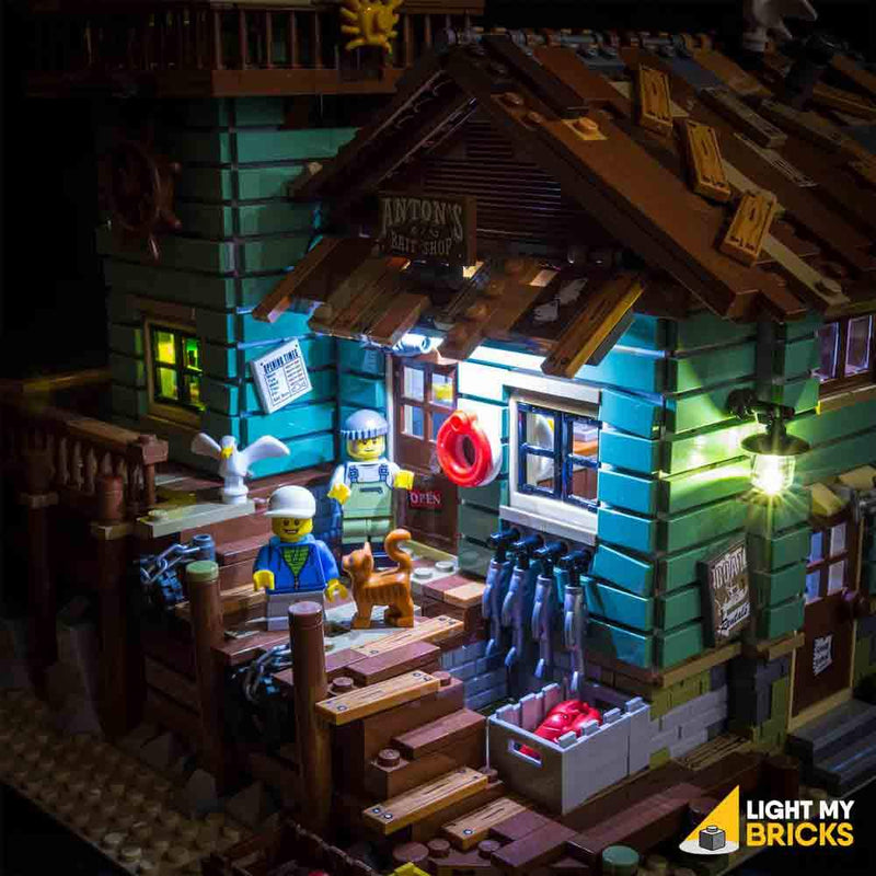 LEGO Old Fishing Store 21310 Light Kit (LEGO Set Are Not Included ) - My Hobbies
