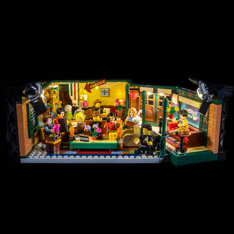 LEGO FRIENDS CENTRAL PERK 21319 LIGHT KIT (LEGO SET ARE NOT INCLUDED )