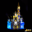 LEGO Disney Castle 71040 Light Kit (LEGO Set Are Not Included )