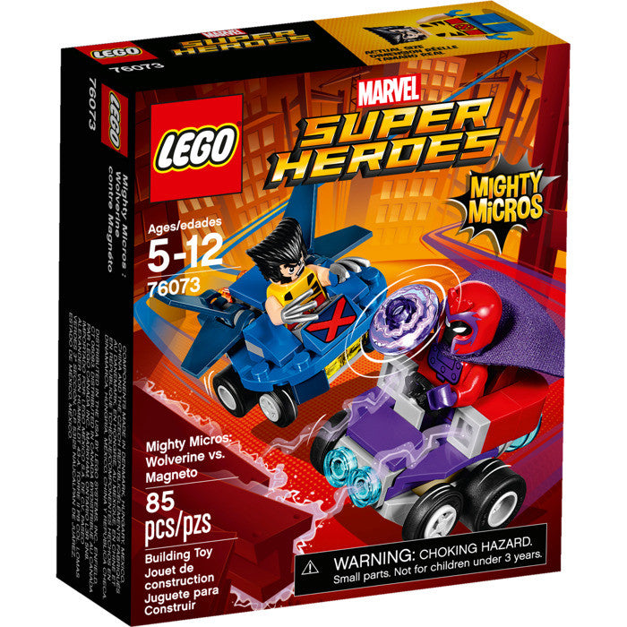 LEGO® 76073 Marvel Super Heroes Mighty Micros: Wolverine vs. Magneto