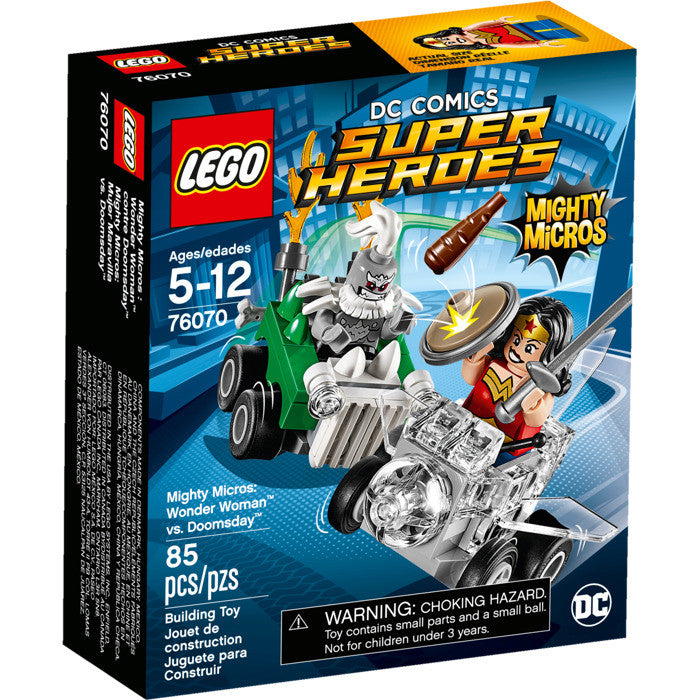 LEGO® 76070 DC Super Heroes Mighty Micros: Wonder Woman vs. Doomsday - My Hobbies