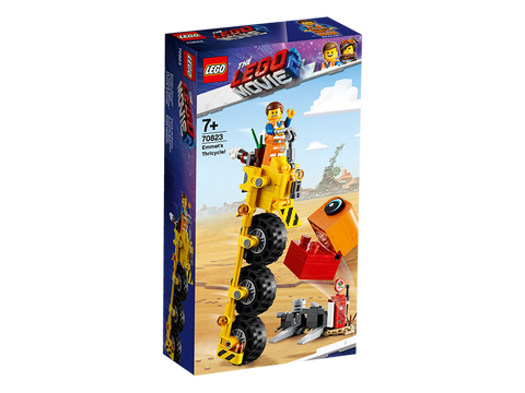 LEGO 70823 The Lego Movie 2 Emmet's Thricycle
