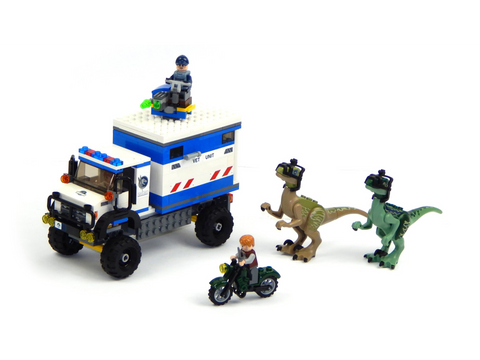LEGO 75917 Jurassic World  Raptor Rampage