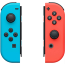 Nintendo Switch Joy-Con Neon Red and Blue Controller Pair - My Hobbies