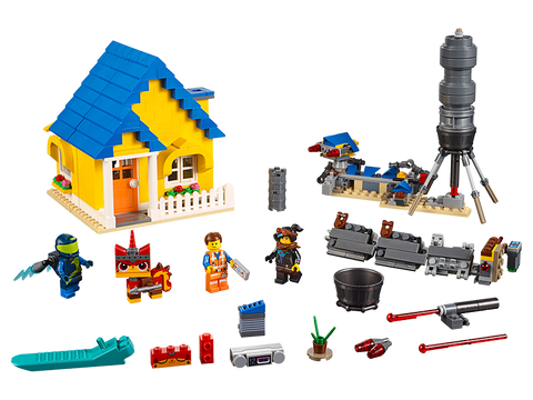 LEGO 70831 The Lego Movie 2 Emmet's Dream House/Rescue Rocket!