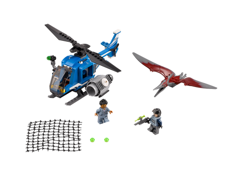 LEGO 75915 Jurassic World  Pteranodon Capture