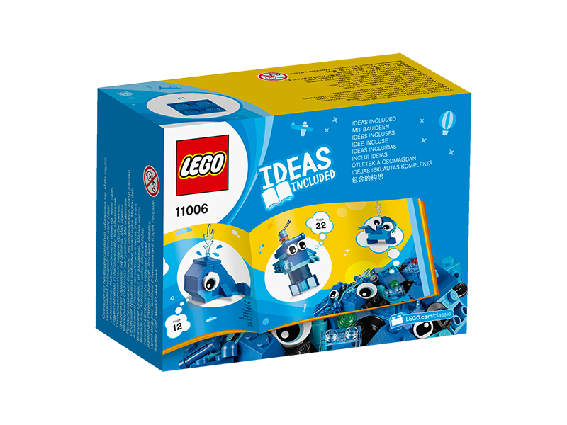 LEGO® 11006 Classic Creative Blue Bricks - My Hobbies