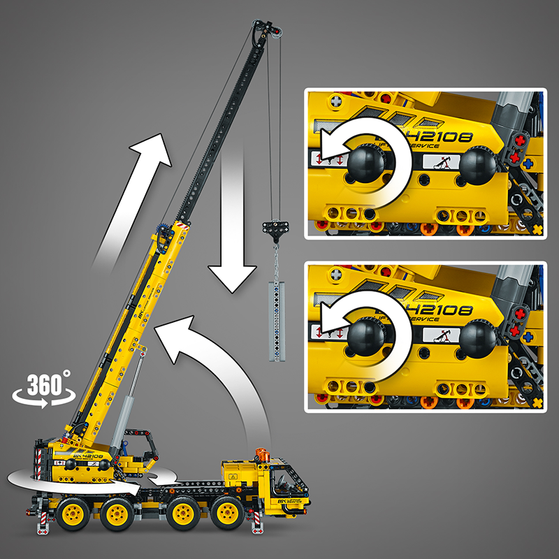LEGO® 42108 Technic™ Mobile Crane - My Hobbies