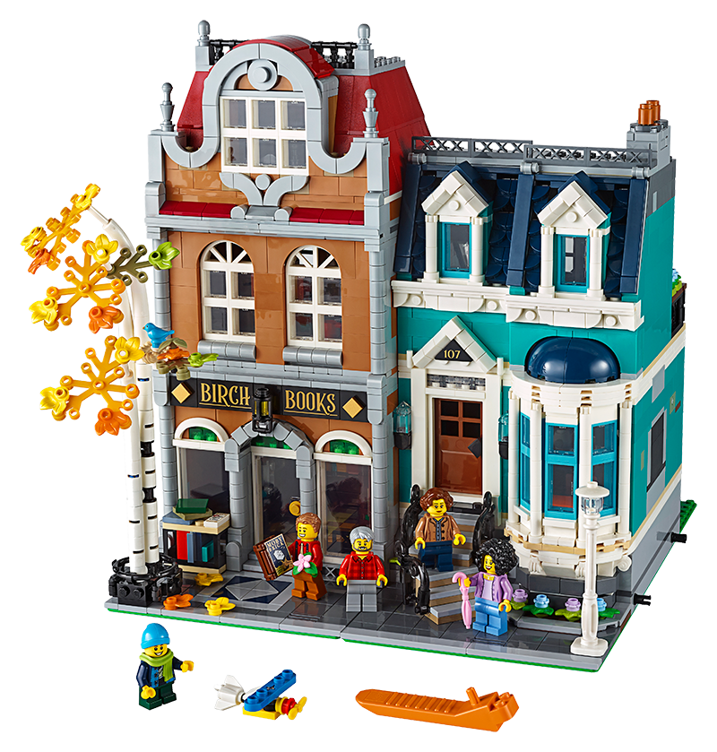 LEGO® 10270 Creator Expert Bookshop - My Hobbies