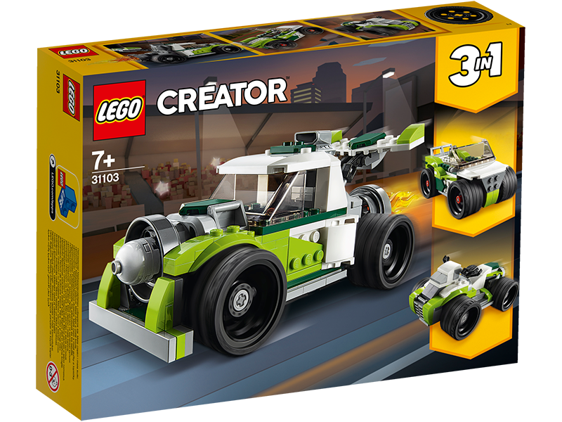 LEGO® 31103 Creator 3-in-1 Rocket Truck - My Hobbies