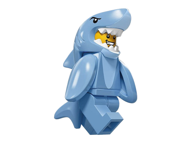 LEGO® 71011 Minifigures Series 15 Shark Guy