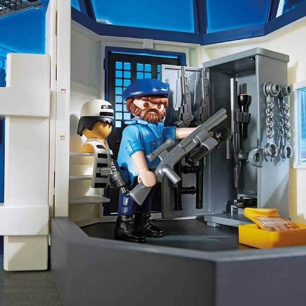 Playmobil - Police Headquarters with Prison - My Hobbies