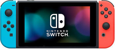 Nintendo Switch Joy-Con Console 2019 - Neon Blue/Red - My Hobbies