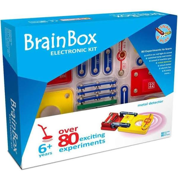 BrainBox - Metal Detector Kit Brain Box - My Hobbies