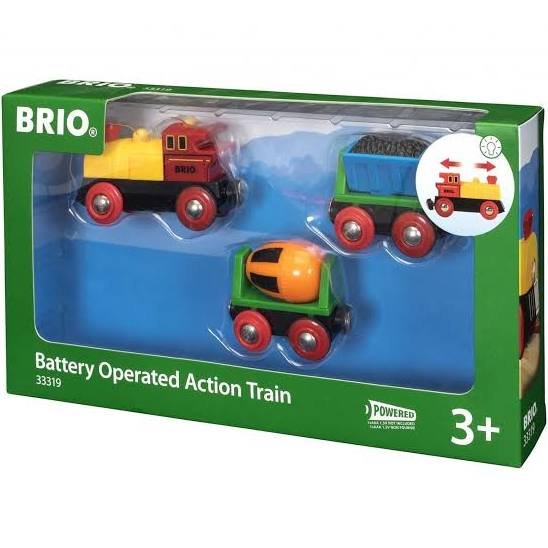 BRIO B/O - Battery Operated Action Train - My Hobbies