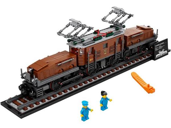 LEGO® 10277 Creator Expert Crocodile Locomotive - My Hobbies