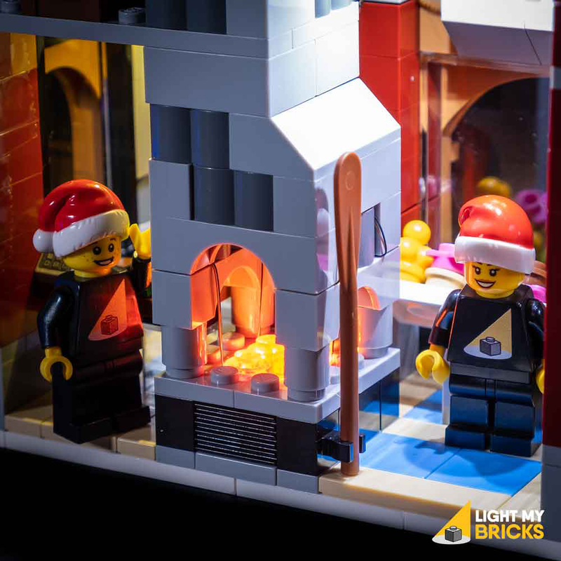 LEGO Winter Village Bakery 10216 Light Kit (LEGO Set Are Not Included ) - My Hobbies