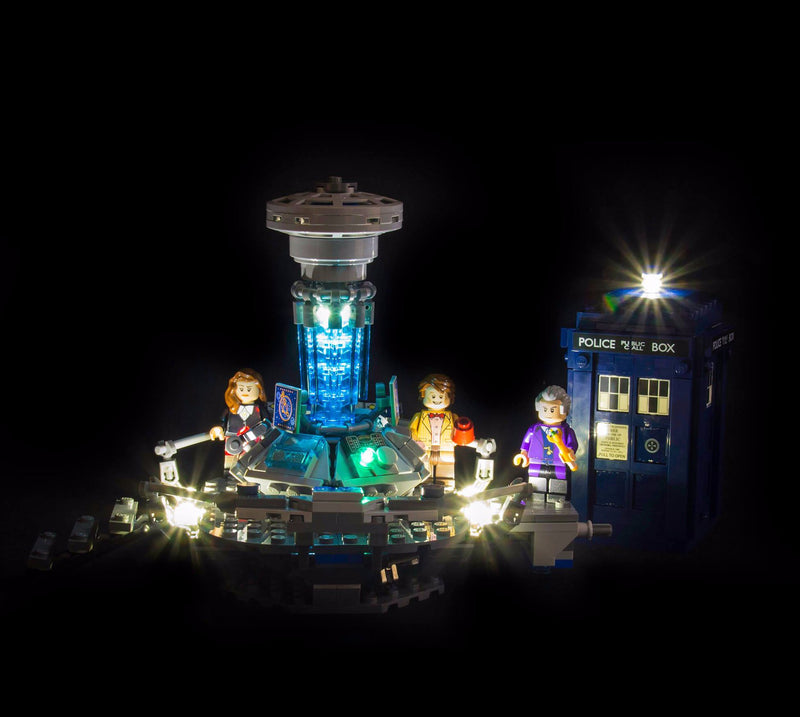 LEGO Dr Who 21304 Light Kit (LEGO Set Are Not Included ) - My Hobbies