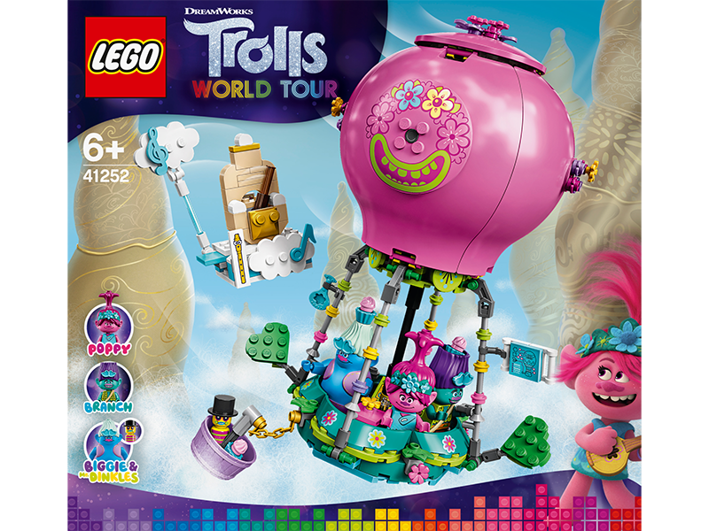 LEGO® 41252 Trolls World Tour Poppy's Hot Air Balloon Adventure - My Hobbies