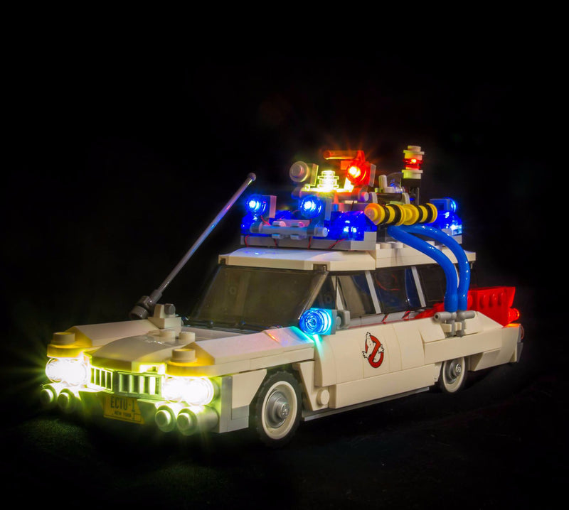 LEGO Ghostbusters Ecto-1 21108 Light Kit (LEGO Set Are Not Included ) - My Hobbies