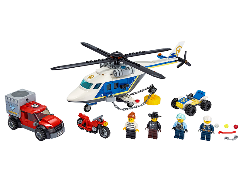 LEGO® 60243 City Police Helicopter Chase - My Hobbies