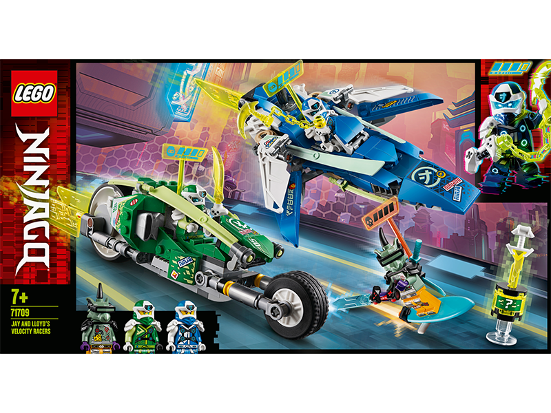 LEGO® 71709 Ninjago Jay and Lloyd's Velocity Racers - My Hobbies